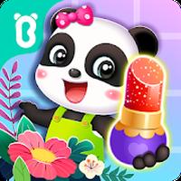 Ícone do Flor da moda da Pequena Panda