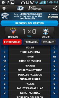 Copa Bridgestone Libertadores screenshot apk 1