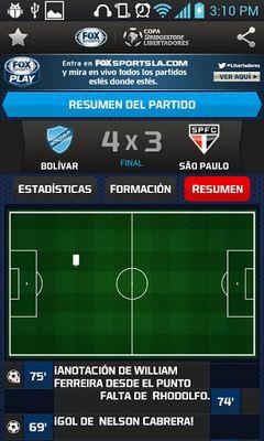Copa Bridgestone Libertadores screenshot apk 4