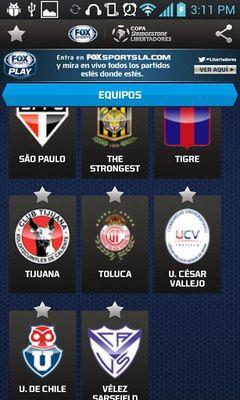 Copa Bridgestone Libertadores screenshot apk 6