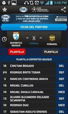 Copa Bridgestone Libertadores screenshot apk 7