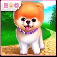 Ícone do Boo — Cachorro bonitinho