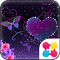 Butterfly Theme Violet Hearts 2.0.1