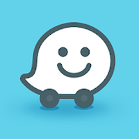 Waze - GPS, Kaarten, Verkeersinfo & Live Navigatie icon