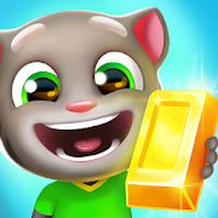 Icône de Talking Tom: Course à l'or