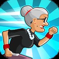 Angry Gran Run - Running Game Simgesi