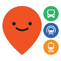 Ícone do Moovit: Metro, Ônibus e Trens