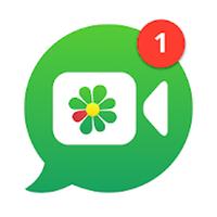 Ícone do ICQ Messenger conversas grátis
