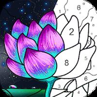 Icono de Pintar por número - Libro de colorear gratis