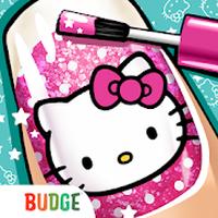 Ícone do Salão de Beleza Hello Kitty