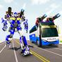 Polis otobüsü robot savaşları dönüştürdü 1.3