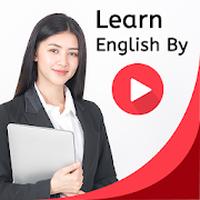 İngilizce konuşan öğrenin videolara ve altyazılara Simgesi