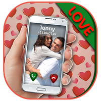 Love Theme Photo Caller ID Simgesi