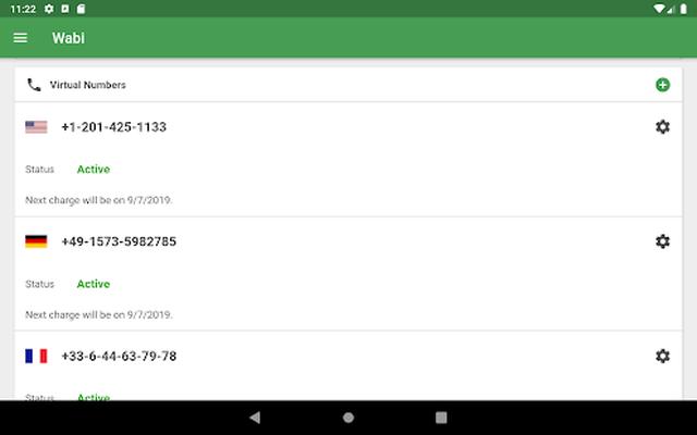 Wabi Número Virtual Para Whatsapp Business 241 Android