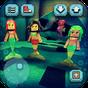 Mermaid Craft: Quadrado Mundo de Princesa no Mar