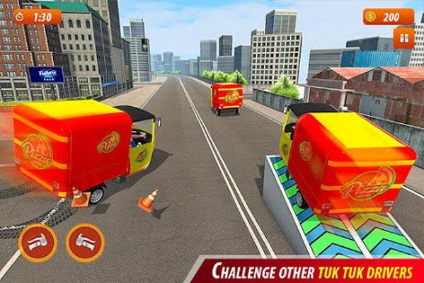 Tuk Tuk City Pizza Delivery Screenshot Apk 3
