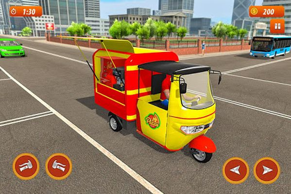 Tuk Tuk City Pizza Delivery Screenshot Apk 4