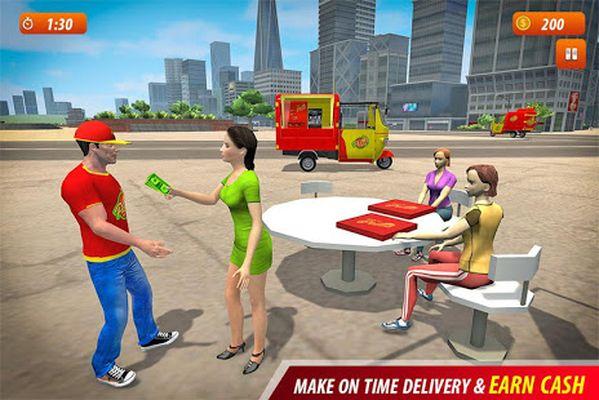 Tuk Tuk City Pizza Delivery Screenshot Apk 5