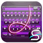 SlideIT Purple Metal Skin v4.0 APK