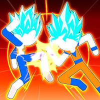 Stick Hero Fight - Super Dragon Battle Tournament icon