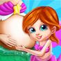 A Gravidez de Arielle - Cuidado do Bebê Sereia  APK