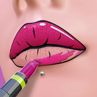 Lip Art 3D Simgesi