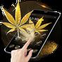 Gold Glitter Weed Rasta Theme 1.1.6