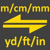 Icoană M, cm, mm până la curte, inch