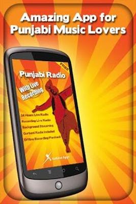 Punjabi Radio – With Recording Android - Free Download Punjabi Radio