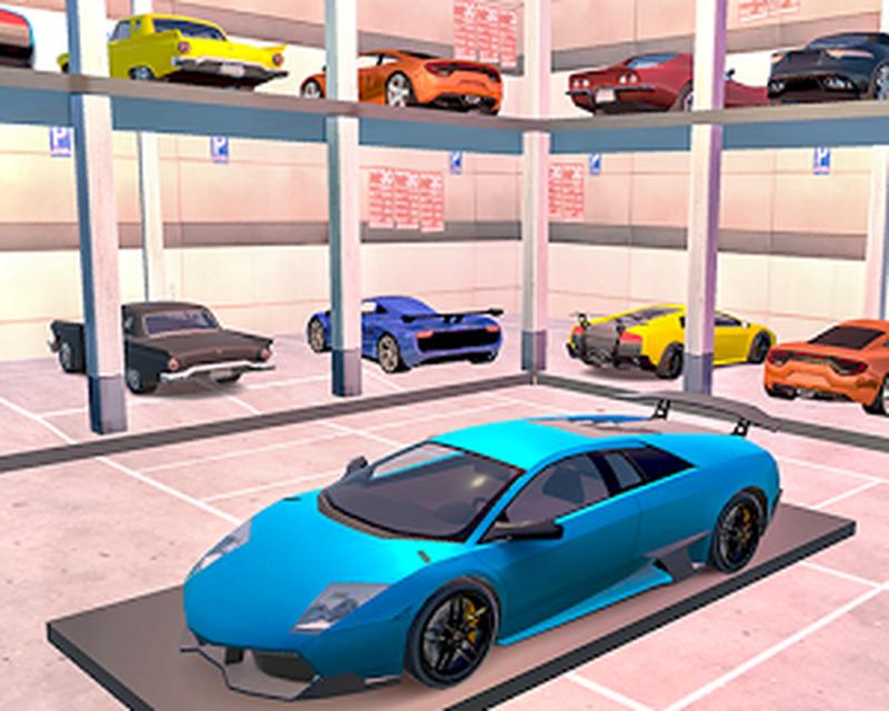 Multi Nível Smart Car Estacionamento Mania Android   Baixar Multi Nível Smart  Car Estacionamento Mania Grátis Android   White Sand   3D Games Studio