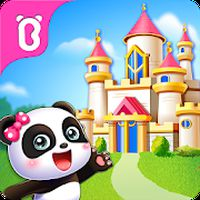 Ikon Istana Impian Panda Kecil