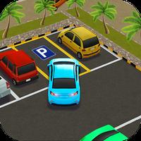 Parque policía auto simulación apk icono