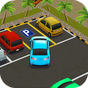 Parque policía auto simulación