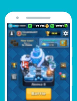 Gems for Clash Royale Prank screenshot apk 1
