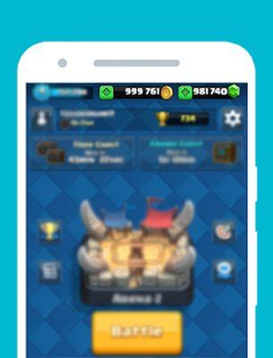 Gems for Clash Royale Prank screenshot apk 2