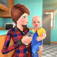 Virtual Family Babysitter Helping Mom Simulator 3D APK Icon