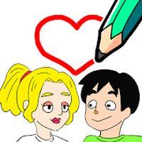 Draw Happy Life Icon