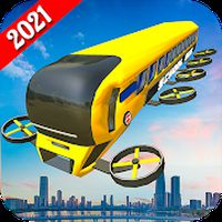 Flying City Bus: Flight Simulator, Sky Bus 2020 icon