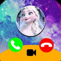 Call from Elssa Chat & video call (Simulation) Simgesi