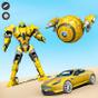 Sand Ball Robot Car Transforming: Robot Car Games