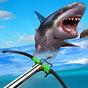 Jogo Submarino De Tubarão-Tigre De Pesca Submarina