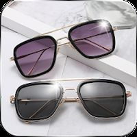 Ícone do fotos do editor de fotos dos óculos