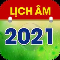 Biểu tượng Lịch Âm 2021 - Lịch Vạn Niên 2021 - Lich Am
