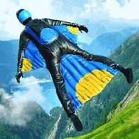 Base Jump Wing Suit Flying icon