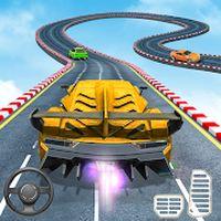 Superhero Car Stunts - Racing Car Games Simgesi