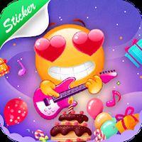 Icoană Emoji GIF Love Stickers For WhatsApp - Birthday