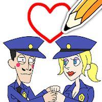 Draw Happy Police Simgesi