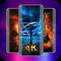 Icône apk HuNa Wallpapers: 4K, 3D, Parallax, HD, Auto