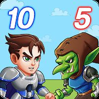 Hero Tower Wars - Math Puzzle 아이콘