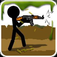 Ikon Stickman And Gun